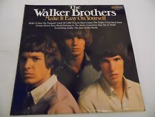 """THE WALKER BROTHERS , MAKE IT EASY ON YOURSELF . 12"""" 33rpm VINYL LP RECORD ."""