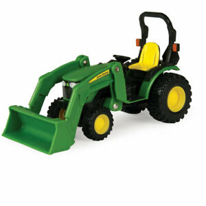 Tomy Collect-N-Play 1:32 Scale John Deere Tractor w/Loader