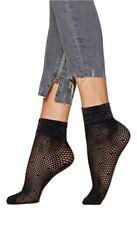 Chaussette Résille Femme Socquettes noires Fiore Puntini 40 den tu