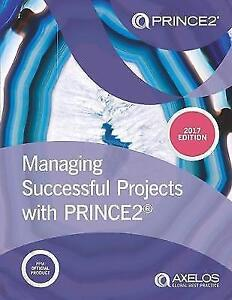 Managing Successful Projects with PRINCE2 2017 Edition. AS NEW CONDITION !