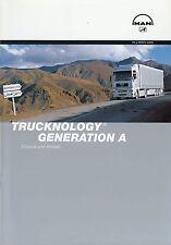 Prospekt MAN Trucknology A Chassis Antrieb 9 00 2000 LKWs Lastwagen brochure