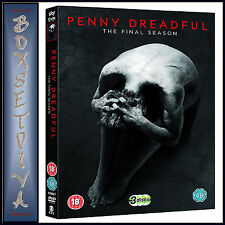 PENNY DREADFUL - COMPLETE SEASON 3 - FINAL SEASON  *BRAND NEW DVD **