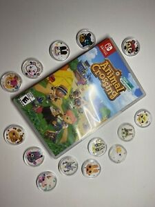 Animal Crossing New Horizon Amiibo Villager Coins For Nintendo Switch *you Pick*