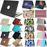 """Marble/ PU Leather/ Rainbow Matte Case Cover for MacBook 12"""" Air Pro 11"""" 13""""15"""""""