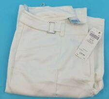 Next White Smart Trousers Size 12 Ladies New With Tags Stretch Comfort Fabric