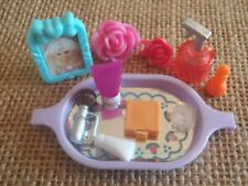 Mattel Barbie Vanity Tray Bathroom Accessories Makeup Doll House Miniature 3-20