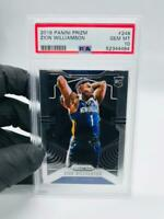 2019-20 Panini Prizm Zion Williamson PSA 10 Gem Mint #248 Rookie