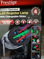 Indoor LED Projector Lamp inc 4 discs Christmas Halloween Birthday New Year new
