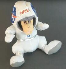 "1998 Nasa 10"" Chimp Plush - Vtg 90's Astronaut Monkey Stuffed Animal Nanco"
