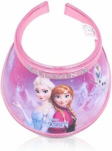 Finex Random Print Frozen Queen Elsa Princess Anna Olaf Sun Visor Hat for Girls