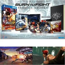 The King Of Fighters XIV: Burn To Fight Premium For PlayStation 4 New Ps4 Games