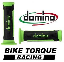 Ducati 748 S Black / Green Domino Turismo Handle Bar Grips