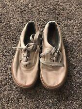 Boys Tan Vans Shoes Size 12