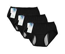 Women Menstrual Period Briefs Leakproof Panties Postpartum Blee... Free Shipping