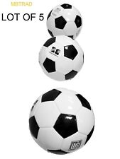 (Lot of 5x) Soccer Ball inflate Pvc Ball - bulk - wholesale lot match