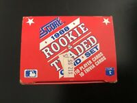 1988 SCORE ROOKIE AND TRADED BASEBALL COMPLETE OPENED FACTORY SET 1-110