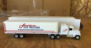 ERTL AMERICAN TOY TRUCKER FORD TRACTOR TRAILER #9177 DIE-CAST1/64 NIB 1990s