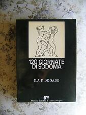 D.A. DE SADE: 120 GIORNATE DI SODOMA - MAGMA EDITORE, 1976