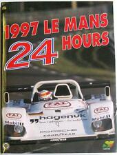LE MANS 24 HOURS 1997 YEARBOOK / ANNUAL MOITY TEISSEDRE BOOK ISBN:2930120150
