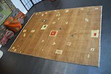 nr 571 Handgeknüpfter Teppich GABBEH GHASHGAI PER. Kamel ca 231 x 171 cm. NEU