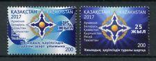 Kazakhstan 2017 MNH Collective Security Treaty & Organization 2v Set Stamps