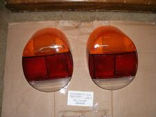 vw volkswagen SUPER BEETLE 1974 thru 1979 tail light lens