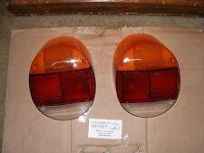 vw volkswagen SUPER BEETLE 1973 thru 1979 tail light lens