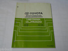 Manual de Instrucciones Toyota Land Cruiser / Prado, Stand 04/1996
