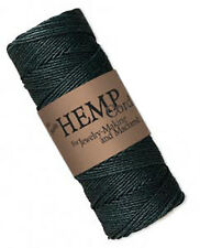 205FT Roll Black Natural Hemp Cord 1MM
