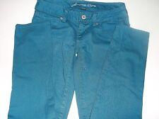 American Eagle Teal Skinny Jeans   Size 0 Regular