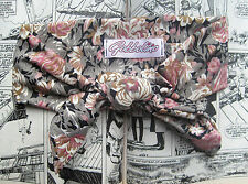 PINK FLORAL 50s STYLE HEAD BAND SCARF KAWAII HIP HOP
