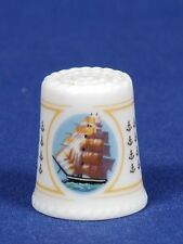 SPECIAL OFFER  TCC Shogo Japan 'Clipper Ship' China Thimble B/56