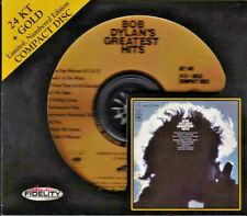 AUDIO FIDELITY GOLD CD AFZ-140: Bob Dylan's Greatest Hits, 2012 USA OOP Ltd#d NM