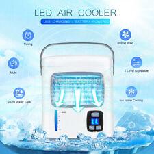 Aire acondicionado móvil Refrigerador de recargable Ventilador de enfriamiento