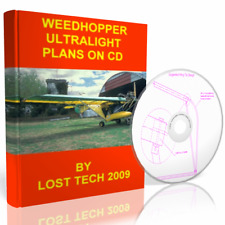 Build Woodhoper & Gypsy Ultralight Airplane Diy Plans On Cd