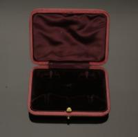 VINTAGE 1920/30s CUFFLINK & DRESS STUDS PRESENTATION BOX