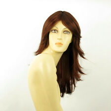 length wig for women dark brown copper intense ref: ZOE 322  PERUK