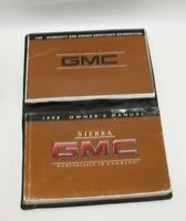 1998 GMC Sierra Factory Original Owners Manual Book Portfolio #30