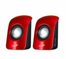 Genius SP-U115 USB Powered Speaker - Red
