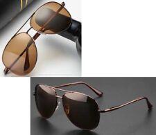 Men's Polarized Sunglasses Classic Retro Metal Glasses Aviator Drving Eyewear