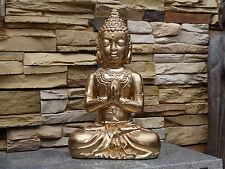 Großer goldener Buddha NEU Budda Budha 7,8 kg 38,5 cm hoch