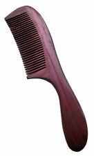 UK venditore! Handcraft purpleheart legno violetwood grande cura dei capelli pettine regalo 20 cm