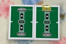 1 deck Gemini Casino Emerald Green Playing Cards-S103049720-甲G4