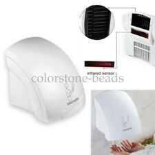 Hotel Automatic Infared Sensor Hand Dryer Bathroom Hands Drying Device White New