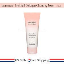 Etude House Moistfull Collagen Cleansing Foam 150ml + FREE SAMPLE [US SELLER]