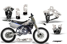 Yamaha YZ250 Graphic Kit Wrap Dirt Bike Decals MX Stickers 1991-1992 REAPER WHT