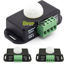 2 X DC 12V/24V Body Infrared PIR Motion Sensor Switch LED Light Strip Automatic