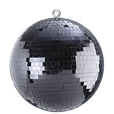 FxLab 300mm Black Mirrorball 30cm DJ Disco Mirror Ball Effect Lighting