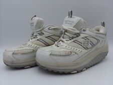 Skechers Fitness Shape-Ups White Gray Toning Sneakers Womens Size 8 M