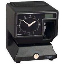 Amano TCX-21/A020 Time Clock Gray Tcx-21 NEW